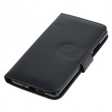 OTB preklopna torbica za Nokia 7 Plus iz umetnega usnja, črna