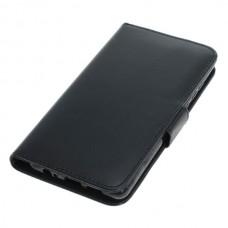 OTB preklopna torbica za Huawei P30 iz umetnega usnja, črna