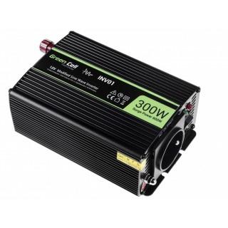Avtomobilski inverter iz 12V na 230V, 300W/600W