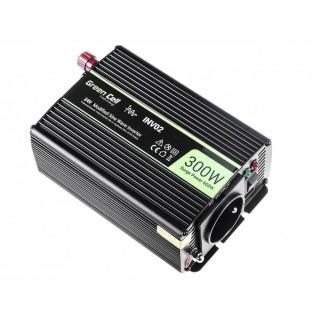 Avtomobilski inverter iz 24V na 230V, 300W/600W