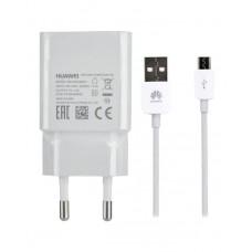 Polnilec za telefone Huawei HW-050200E01 s kablom MicroUSB, originalni, 2A