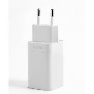 Polnilec za telefone OnePlus HK0504, originalni, brez kabla, bel, 4A