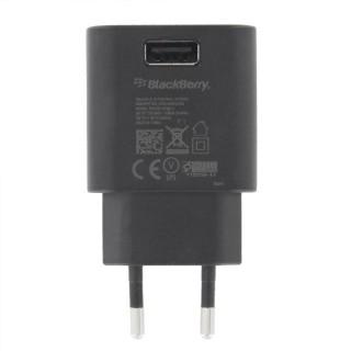 Polnilec za telefone Blackberry ASY-44303-002, originalni, brez kabla, črn, 0.55A