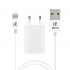 Polnilec za telefone Apple iPhone s kablom Lightning, 5W, 1A