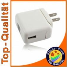 Polnilec / adapter USB, univerzalni, mednarodni, 1A