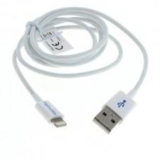 Kabel USB za polnjenje in prenos podatkov za iPhone / iPod / iPad s priključkom Lightning, 1m