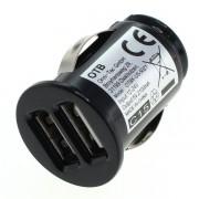 Avtomobilski polnilec / adapter USB, univerzalni, 2.1A