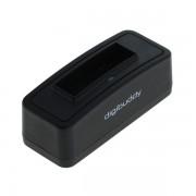 Polnilec za baterijo Fuji NP-40 / Kodak KLIC-7005 / Konica Minolta NP-1 / Panasonic CGA-S004 / Pentax D-LI85, MicroUSB