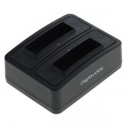 Polnilec za baterijo Fuji NP-40 / Kodak KLIC-7005 / Konica Minolta NP-1 / Panasonic CGA-S004 / Pentax D-LI85, MicroUSB, dvojni