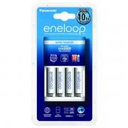 Polnilec za baterije NiMH Panasonic BQ-CC51E in 4 baterije Eneloop AAA