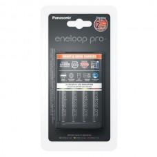 Polnilec za baterije NiMH Panasonic BQ-CC55E in 4 baterije Eneloop Pro AA