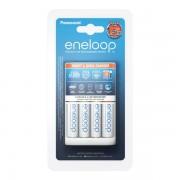 Polnilec za baterije NiMH Panasonic BQ-CC55E in 4 baterije Eneloop AA