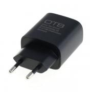 Polnilec za naprave s priključkom USB-C, 20W, črn
