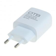 Polnilec za naprave s priključkom USB-C, 20W, bel