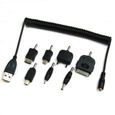 Univerzalni kabel USB za polnjenje z različnimi priključki