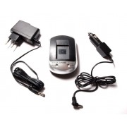 Polnilec za baterijo Panasonic VW-VBK180 / VW-VBT190 / VW-VBY100, namizni