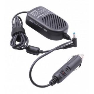 Avtomobilski polnilec za prenosnike HP / Compaq, 65W / 19,5V / 3,33A / 4,5mm x 3,0mm