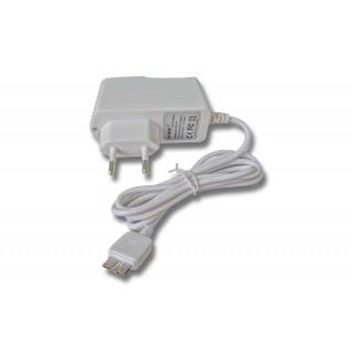Polnilec za tablične računalnike Lenovo / Medion / Samsung s priključkom MicroUSB, USB 3.0, bel, 2,1A