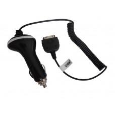 Avtomobilski polnilec za telefone Apple iPhone / iPod, črn, 1A