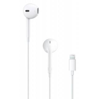 Apple slušalke EarPods, priključek Lightning, bele