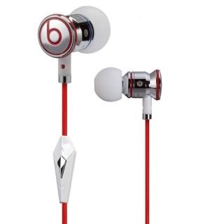Monster iBeats by Dr. Dre slušalke z mikrofonom, chrome