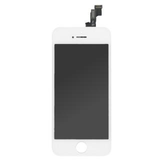 Steklo in LCD zaslon za Apple iPhone SE, belo