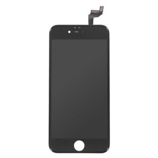 Steklo in LCD zaslon za Apple iPhone 6S, črno