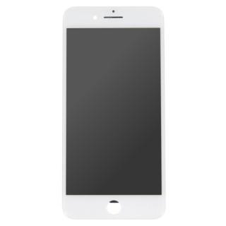 Steklo in LCD zaslon za Apple iPhone 7 Plus, belo