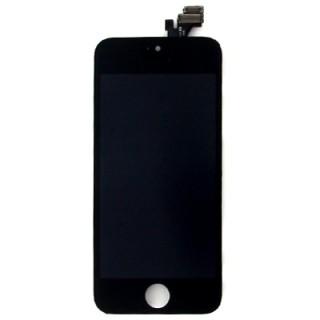 Steklo in LCD zaslon za Apple iPhone 5, črno