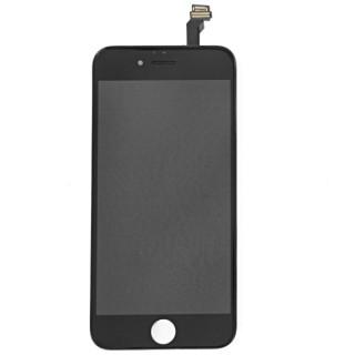 Steklo in LCD zaslon za Apple iPhone 6, črno