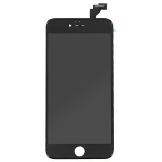 Steklo in LCD zaslon za Apple iPhone 6 Plus, črno