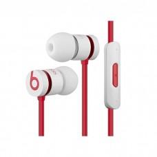 Beats UrBeats 1.0 slušalke z mikrofonom, white red