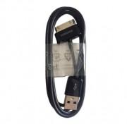 Podatkovni kabel USB za naprave Samsung Galaxy Tab / Note, črn, originalni
