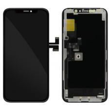 Steklo in LCD zaslon za Apple iPhone 11 Pro, črno