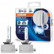 Xenon žarnice D1S 35W OSRAM Xenarc Cool Blue Intense 66140CBI, DUO Pack