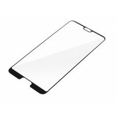 Kaljeno zaščitno steklo za Huawei P20 Pro, Full Cover 3D, črno