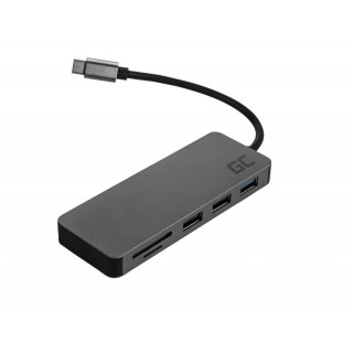 Adapter multiport iz USB-C na USB-C, HDMI, USB-A, SD, MicroSD