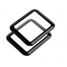Kaljeno zaščitno steklo za Apple Watch 3 (38 mm), Full Cover 3D