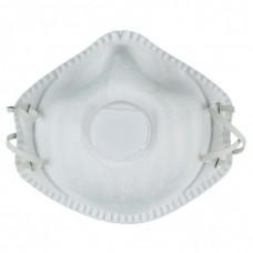 KS TOOLS zaščitna maska za usta FFP1 z ventilom, 5 kos