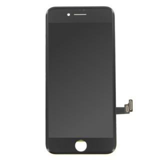 Steklo in LCD zaslon za Apple iPhone 8, črno