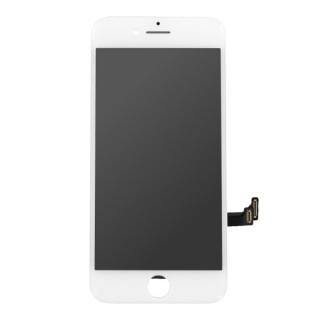 Steklo in LCD zaslon za Apple iPhone 8, belo