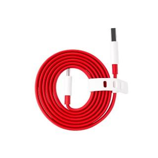 OnePlus podatkovni kabel DASH Type-C iz USB-A na USB-C, rdeč, 1.0 m