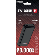 Polnilec PowerBank zunanji prenosni Worx Swisteen 22013952, 20000 mAh