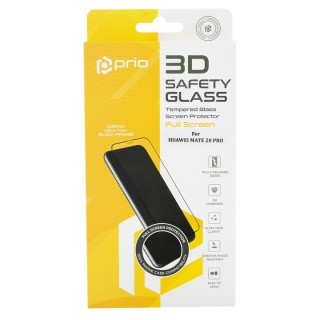 Kaljeno zaščitno steklo za Huawei Mate 20 Lite, Full Cover 3D, črno