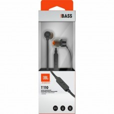 JBL slušalke T110, črne