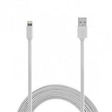 Kabel iz USB na Apple Lightning, ploščati, 1m