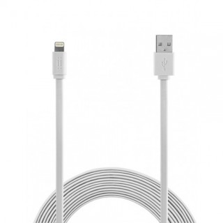 Kabel iz USB na Apple Lightning, ploščati, 1m