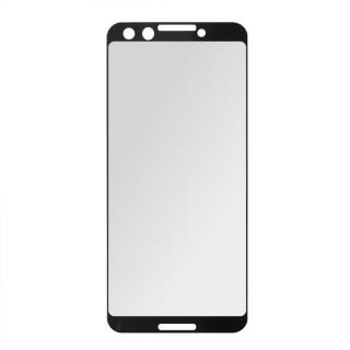 Kaljeno zaščitno steklo za Google Pixel 3, Full Cover 3D, črno