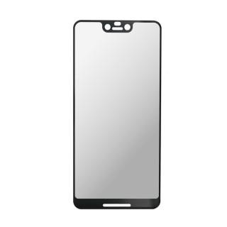 Kaljeno zaščitno steklo za Google Pixel 3 XL, Full Cover 3D, črno
