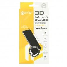 Kaljeno zaščitno steklo za Samsung Galaxy S10E, Full Cover 3D, črno